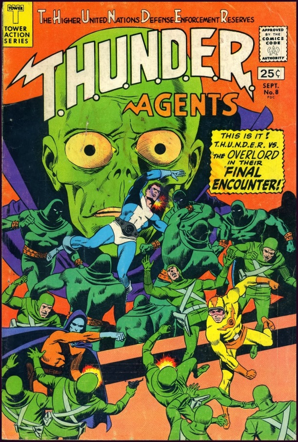 The Golden Age: T.H.U.N.D.E.R. AGENTS #1-#17 ~ Wally Wood ~ 1965-1967